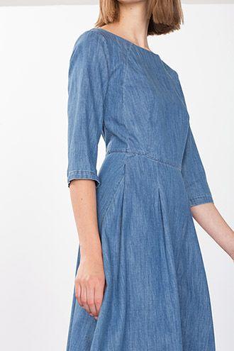 EDC / Denim jurk van katoen