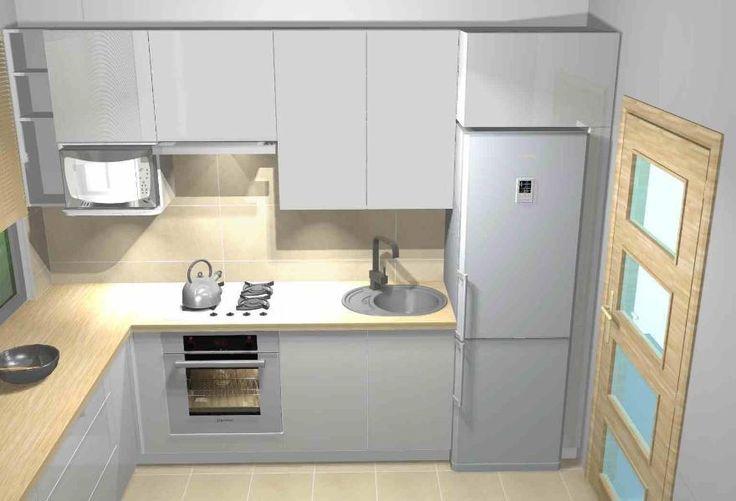 Projekt małej kuchni 2