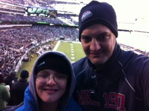 I try to put into words just why it means so much to me to take my son to sporting events. This time it was Saints-Jets at MetLife Stadium.