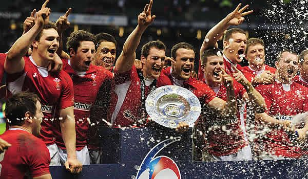 Wales win the Triple Crown after a hard fought battle with England. It's the first time Wales has won the Triple Crown at Twickers. We've won it before, but never at the home of English rugby