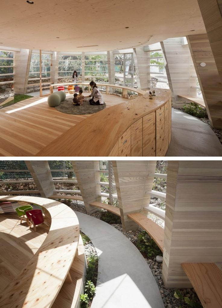 Amazing The Tsukushi Nursery School In Fukuyama, Hiroshima Is Affectionately Called  U201cPeanutu201d By Itu0027s Designers UID Architects And Hiroshi Ueda. Home Design Ideas
