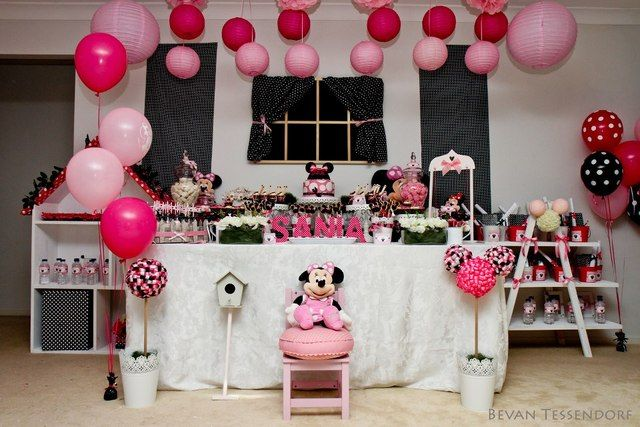 "minnie mouse party ideas for 2nd birthday | ... Minnie Mouse Theme / Birthday ""Sania's 2nd Birthday"" 