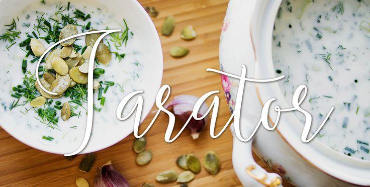 Tarator   Przepis na bułgarski chłodnik http://thecarolinasbook.net/tarator-przepis-bulgarski-chlodnik/