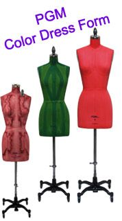 {PGM Industry Grade Dress Forms} |{Missy Dress Form}| Professional Dress Forms