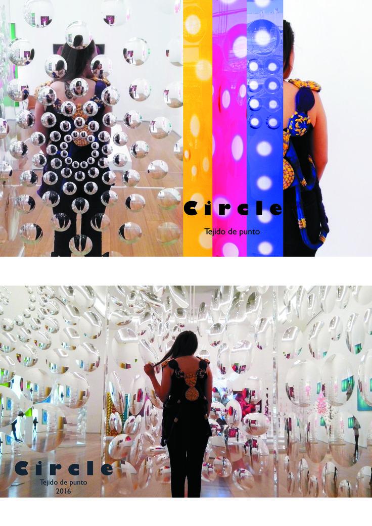 Chaleco en tejido de punto inspirado en el artista  Rogelio Polesello (Muestra en MALBA)
