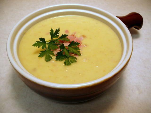 Potato, Leek And Ham Soup Recipe — Dishmaps