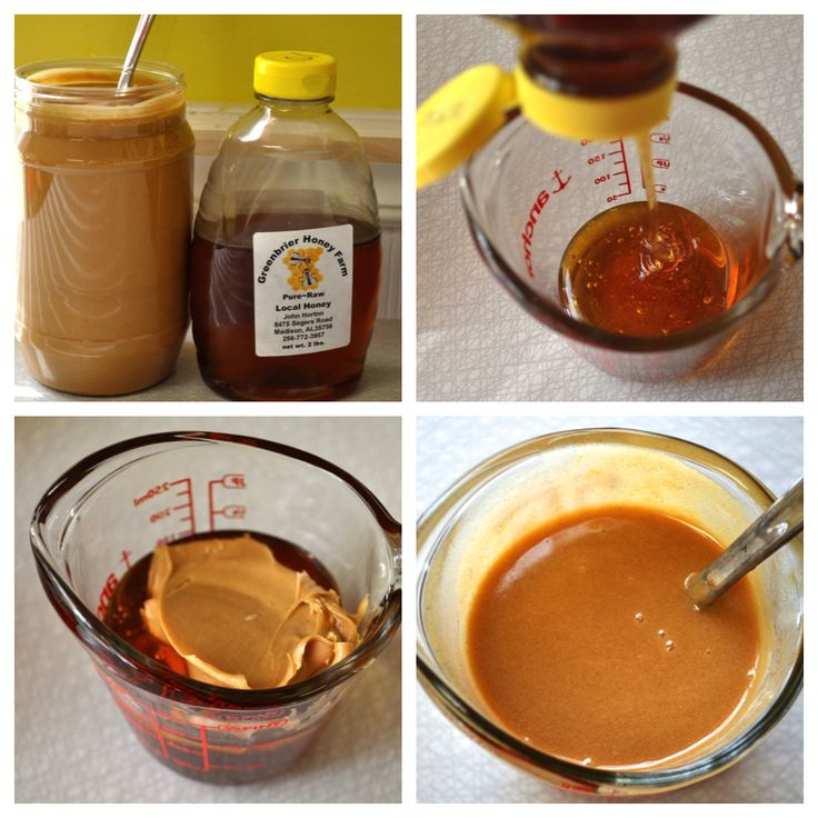 1 Minute Peanut Butter Syrup. Great for pancakes, biscuits, or ice cream :)  southernplate.com