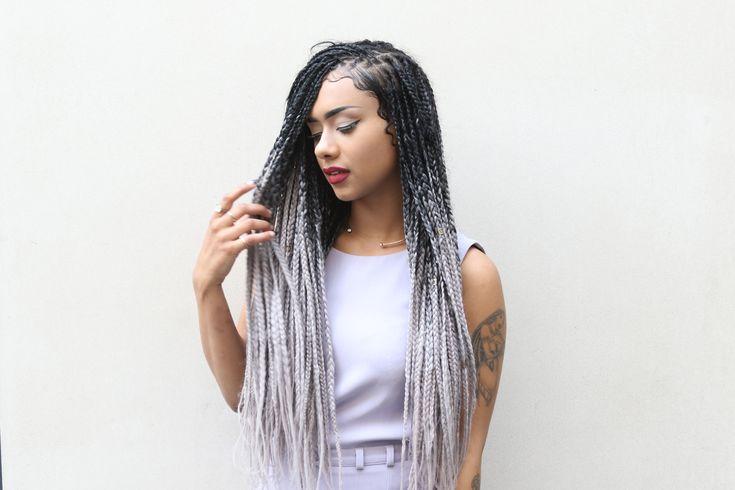 box braids ombre - Pesquisa Google