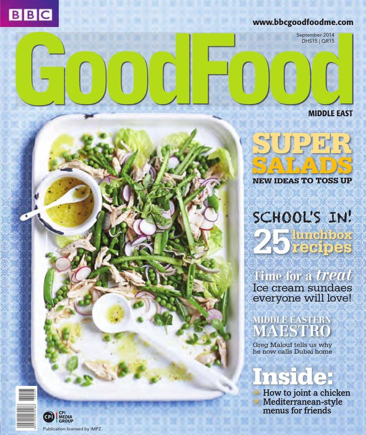 BBC Good Food ME - 2014 September