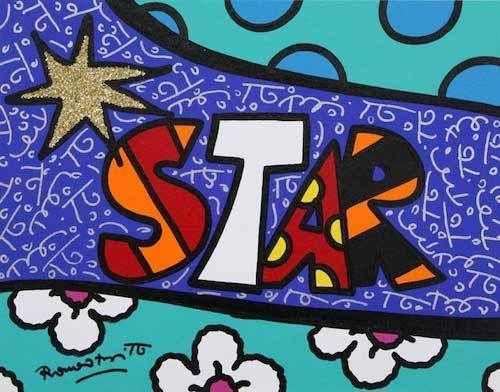 Star by Romero Britto