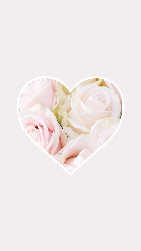 7970 best images about iphone wallpaper backgrounds on - Pink roses and hearts wallpaper ...