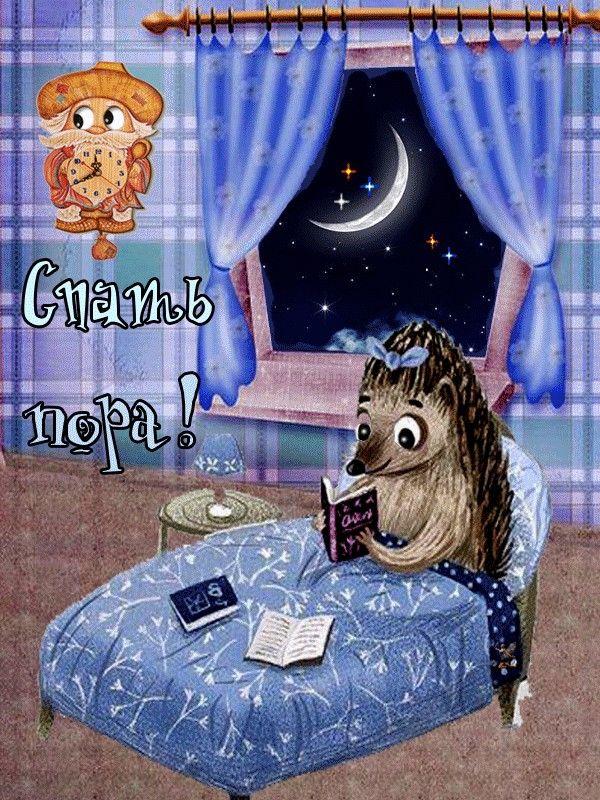 сети появилось пора спать доброй ночи картинки традиционным представлениям
