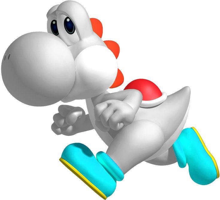 yoshi | White Yoshi Available for Mario Tennis Open This Weekend ...