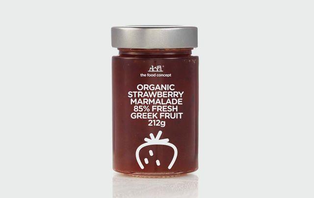 Organic line : Organic Strawberry marmalade