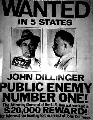 john dillinger americas public enemy number one John dillinger: the life and death of america's first celebrity criminal dary matera 40 the year that made america's public enemy number one.