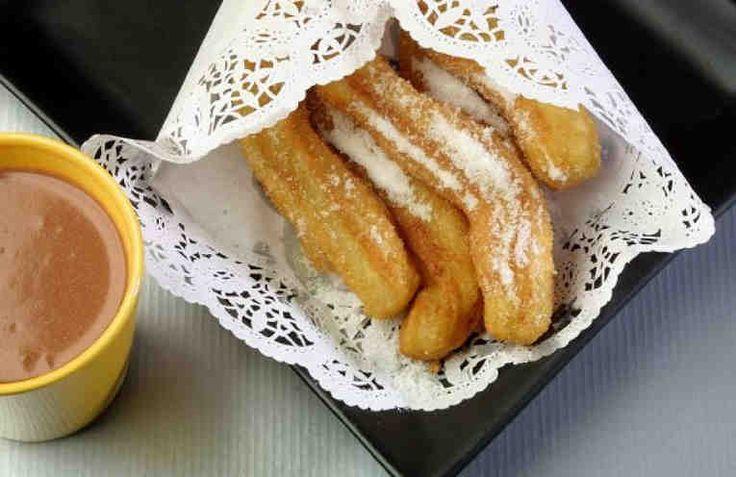 C mo hacer churros caseros postres churros and sweet pastries - Como hacer churros en casa ...