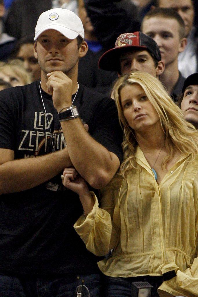 Jessica Simpson y Tony Romo