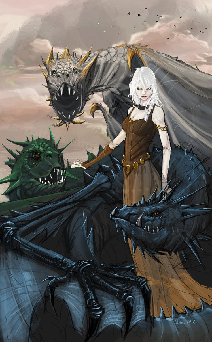 Dragons game of thrones colors - Mother Of Dragons Game Of Thrones Daenerys By Minenanoah