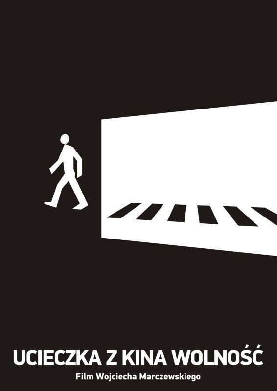 """Plakat do filmu """"Ucieczka z kina wolność"""" Dla anglojęzycznych obglądających: http://www.imdb.com/title/tt0103150/"""