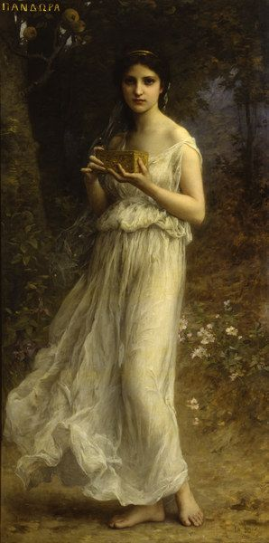charles-Amable Lenoir A nymph in the forest | Pinturas de Charles Amable Lenoir! | Artes & Humor de Mulher