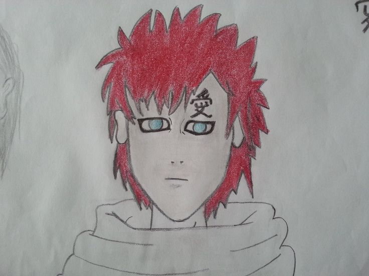 Gaara Painting (Naruto Shippuden)    I hope you like this.    Please check out the rest of my gallery: http://mertozel.deviantart.com/gallery/    comments please..
