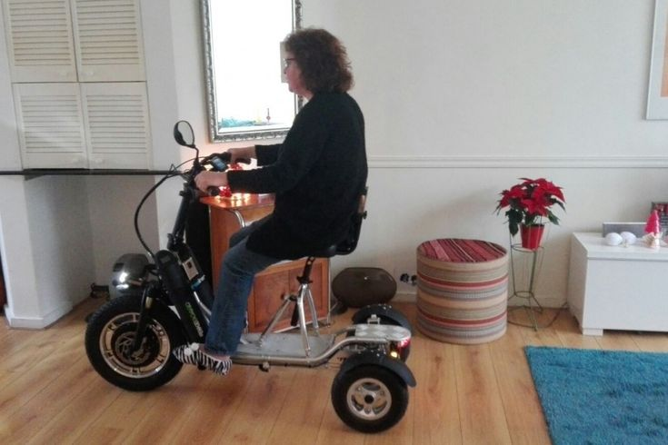 Driewiel elektrische scooter Freeliner van e-Bikeboard AG - Scouters