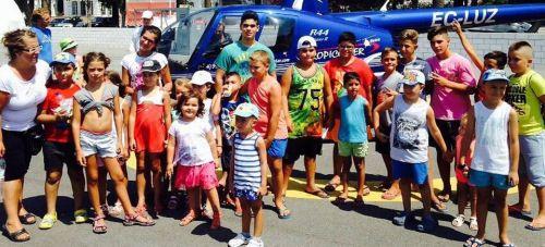 Visita escuela Verano asuntos Sociales a la Jornada de Puertas Abiertas del Puerto