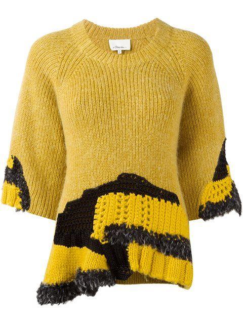 3.1 PHILLIP LIM hand-crocheted jumper. #3.1philliplim #cloth #jumper