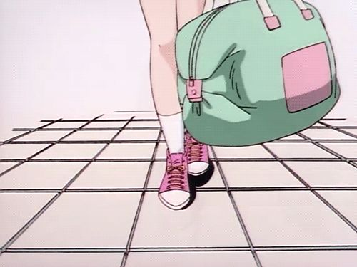 Anime, Kawaii And Retro
