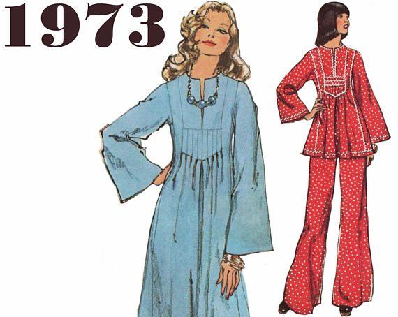 556 best 1970s Vintage Sewing Patterns images on Pinterest | Vintage ...
