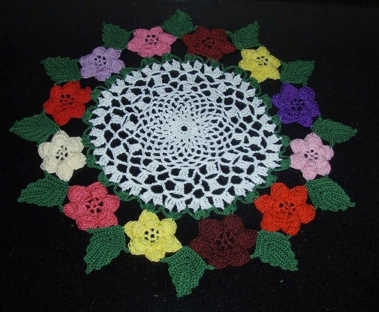 Doily Patterns 12 Rose Irish Doily Free Pattern Doilys