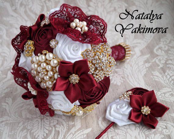 FULL PRICE. Brooch Bouquet Bridal Bouquet Wedding Bouquet