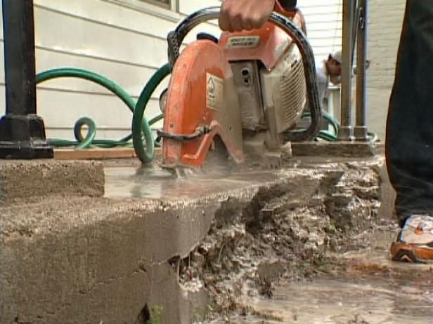How to repair concrete steps concrete steps to fix and for Crumbling concrete floor