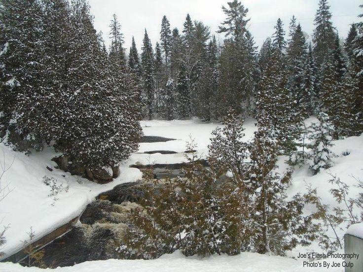 Winter beauty on the Seguin River taken off highway 518 East of Orrville Ontario