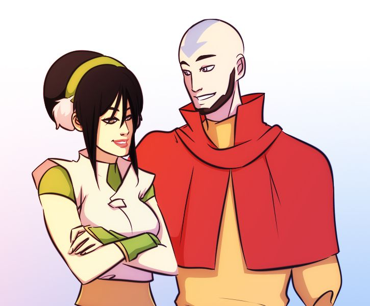 Congratulate, your Aang e toph sexy image improbable