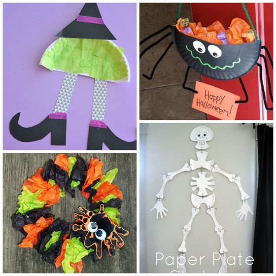 Paper Plate Halloween Crafts for Kids - Crafty Morning