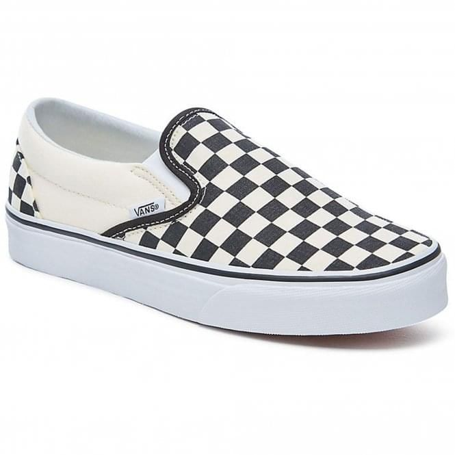 black and white checkered vans shoes