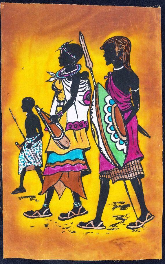 144 best Africa Art images on Pinterest   Africa art, African art ...