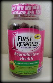 Hoping to get pregnant? First Response Reproductive Health Vitamins are great for pre-pregnancy planning! #FirstResponse #PrePregnancy #Pregnancy