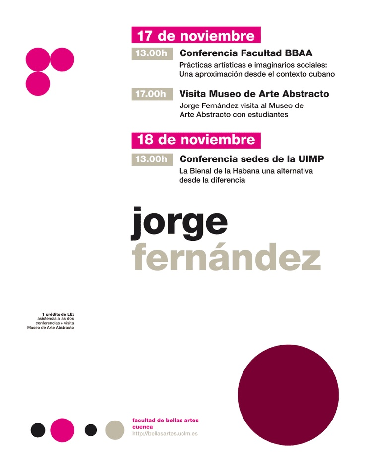 Jorge Fernández. Director de la XI Bienal de la Habana. http://www.youtube.com/watch?v=be_C3OeGJWA
