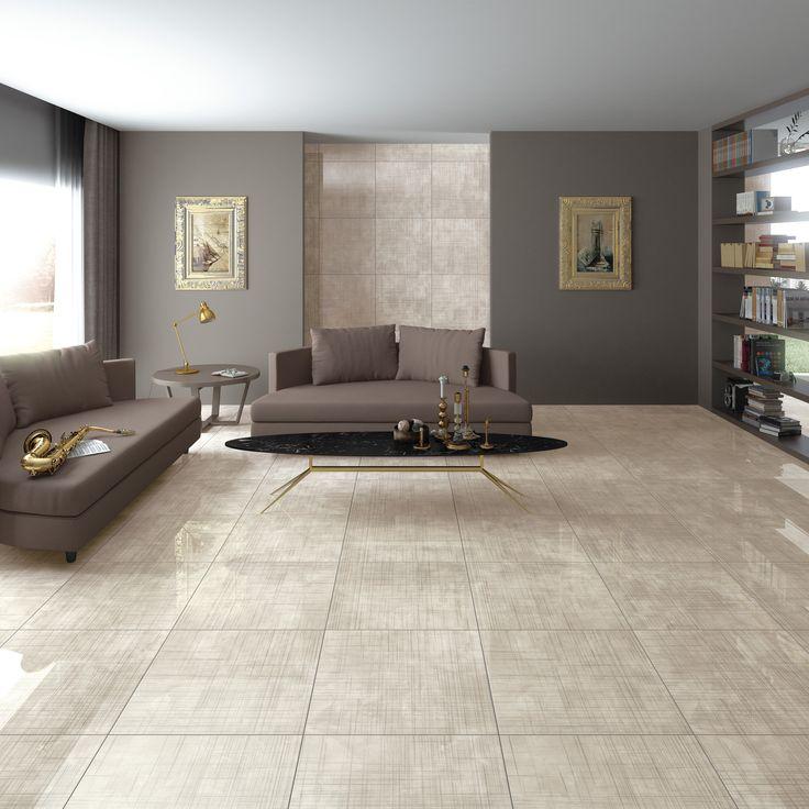 Living room | beige scheme | Arcana Tiles | Arcana Ceramica | Lewis-SPR Beige 60x60 cm.  | Home ideas