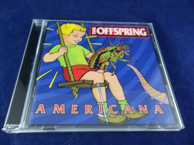 The Offspring Americana 1998 CD  #TheOppspring #Americana #Rock #Music #CD #Album #eBid