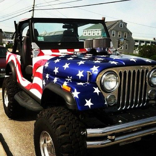 I dont really like the flag painted on it as much but the jeep is pretty