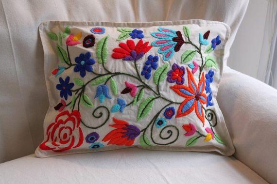 Almohadones bordados a mano - Almohadones - Casa - 494003