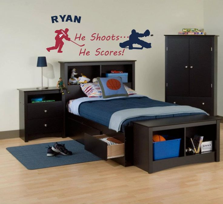 123 best images about hockey zone on pinterest ice for Kids hockey room