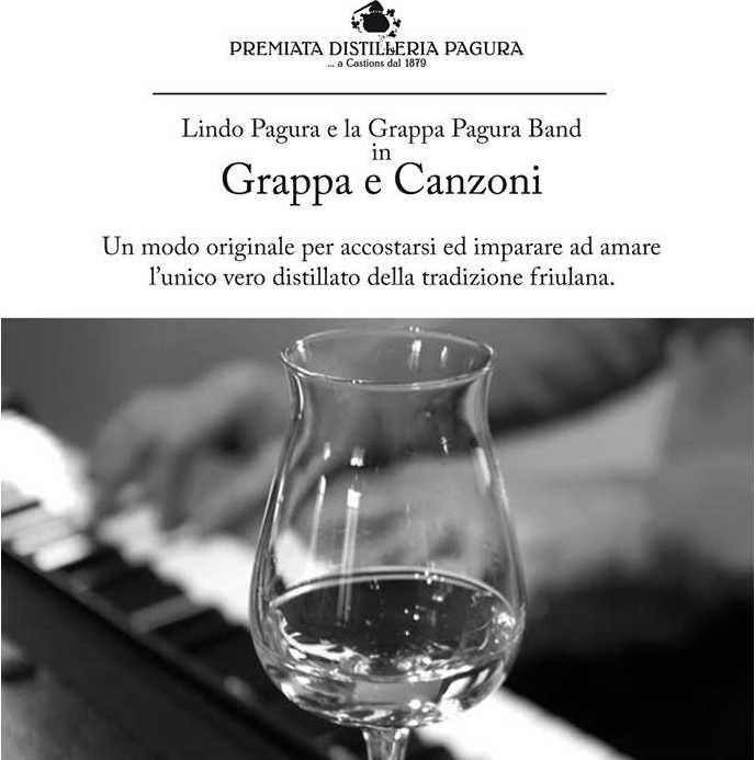 Pagura Destillery - grappa on music!