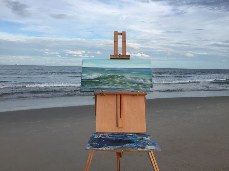 Buy The Ocean`s Tides, en plein air seascape oil painting on canvas, Oil painting by Eva Volf on Artfinder. Discover thousands of other original paintings, prints, sculptures and photography from independent artists.