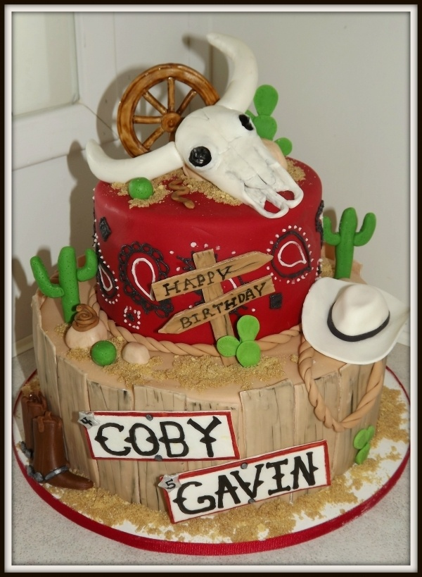 Western cake By: Generations-creations
