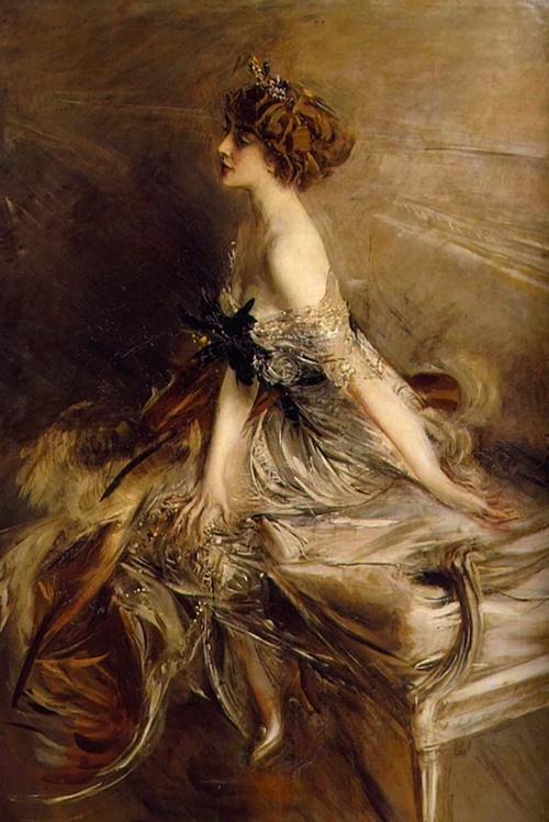 Portrait de la princesse Marthe Lucile Bibesco (1911) by Giovanni BOLDINI