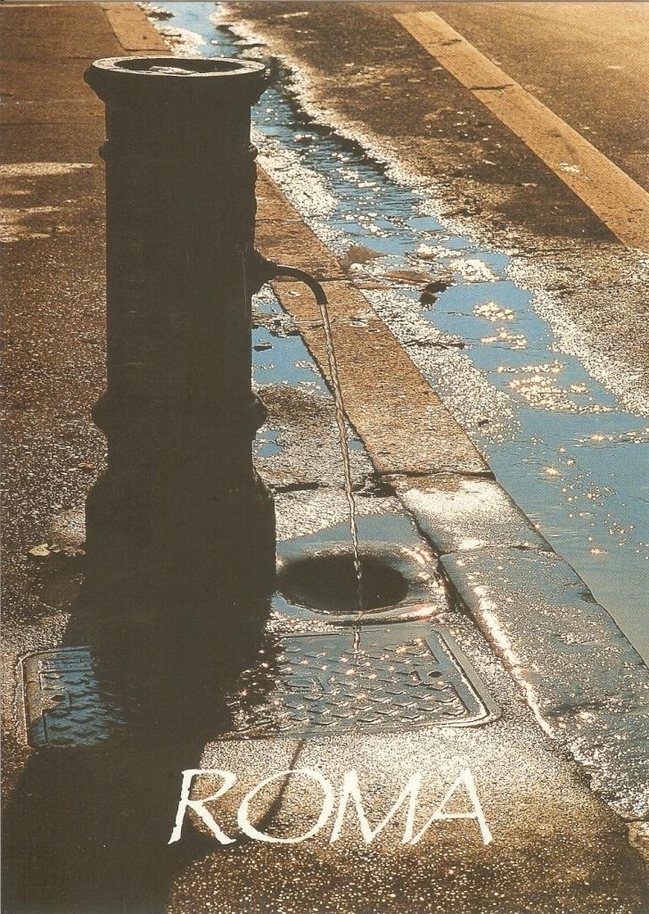 PK0498. Roma. Italy. Tipica Fontanella romana detta: er Nasone.All World, Er Nason, Romana Detta, Tipicas Fontanella, Postkarten Aus, Fontanella Romana, Aus Aller
